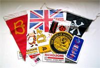 Bunting, Flags & Stickers